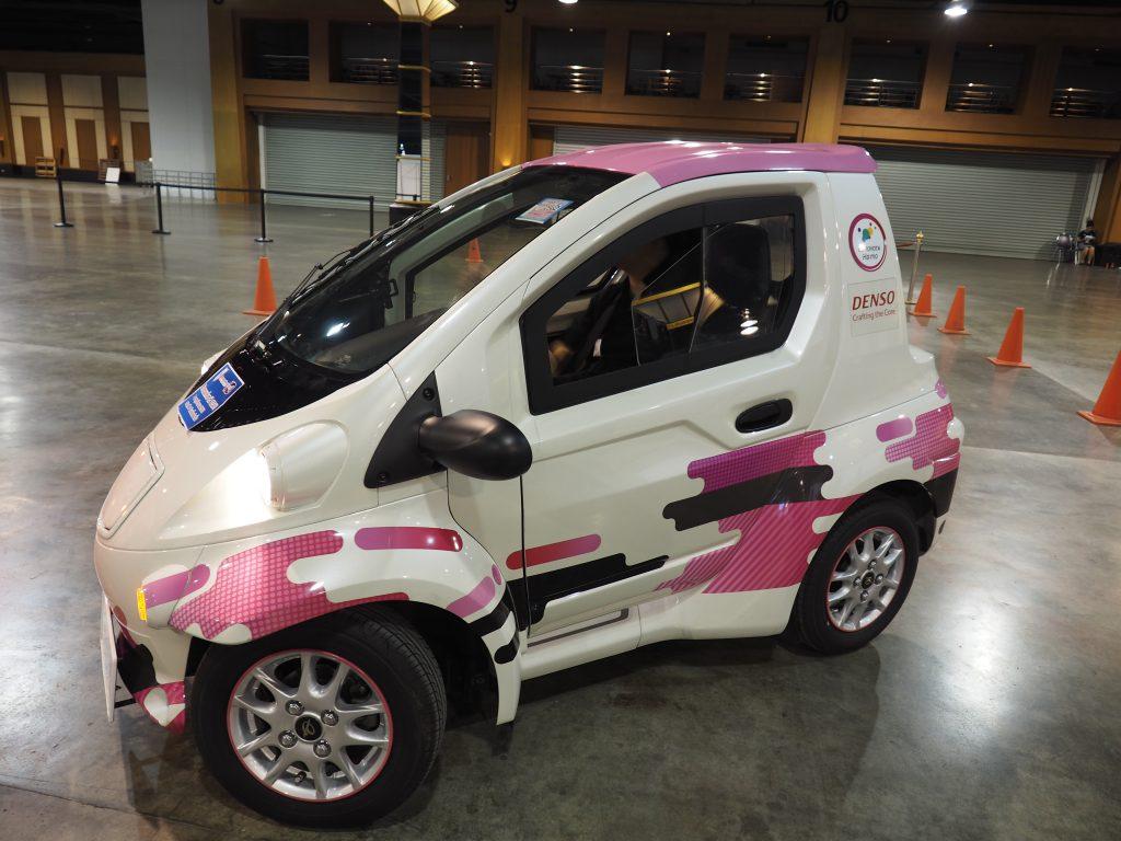 การจัดแสดงเทคโนโลยี ยานยนต์ไฟฟ้า EV ในงานวิศวกรรมแห่งชาติ 2561