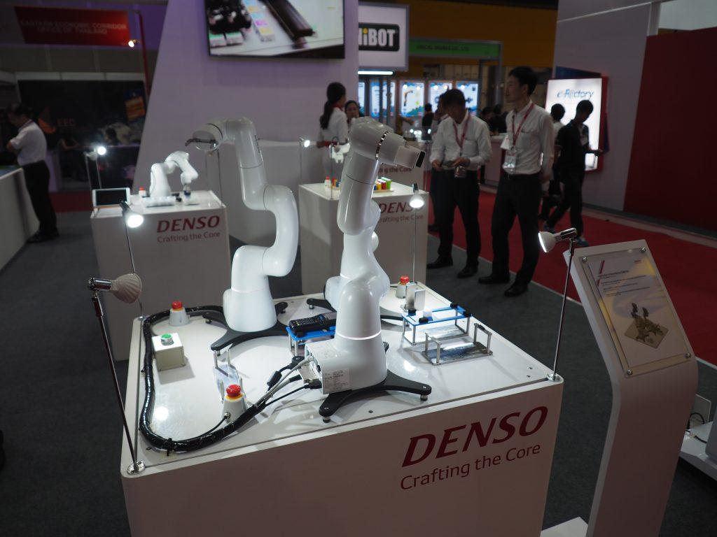 หุ่นยนต์ DENSO ในงาน METALEX 2018
