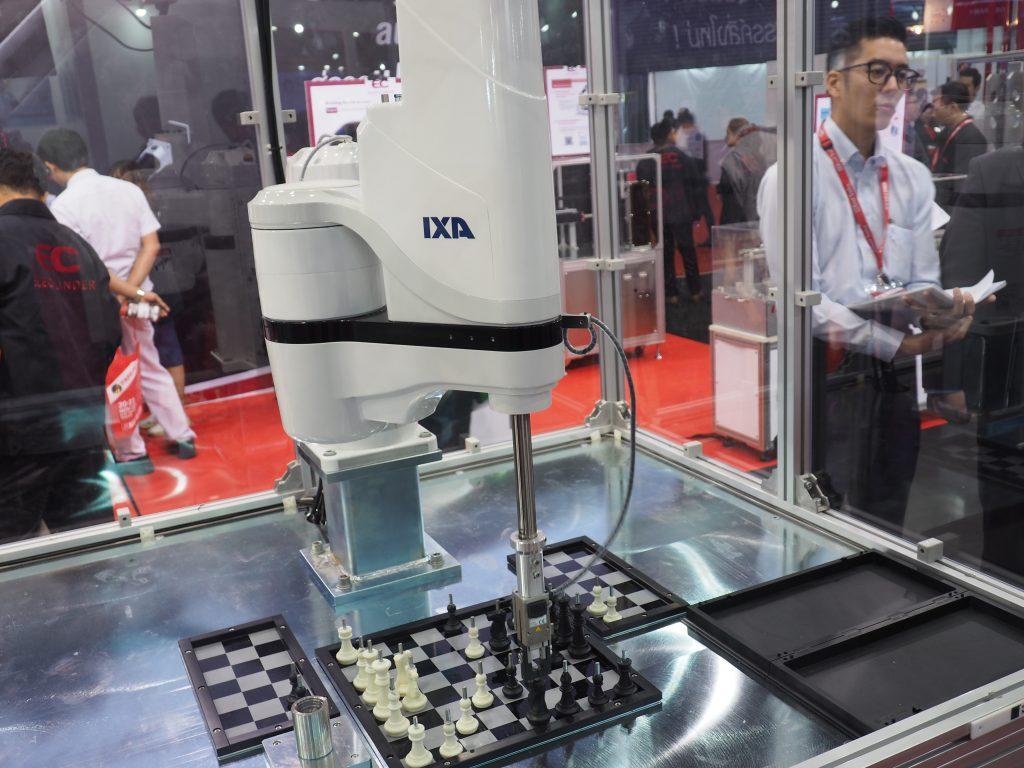RobotX ในงาน METALEX 2018 รวบรวมหุ่นยนต์กว่า 20 แบรนด์ ภายในพื้นที่ห้องจัดแสดง 106 ของศูนย์นิทรรศการและการประชุมไบเทค