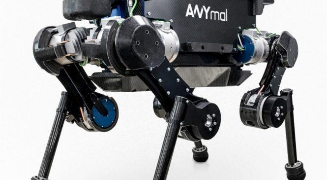 ANYmal หุ่นยนต์ 4 ขาทำงานนอกชายฝั่งตัวแรกของโลก