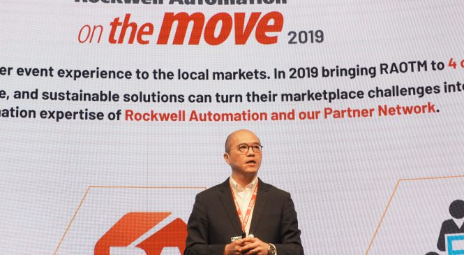 Rockwell Automation on the Move 2019 at BITEC