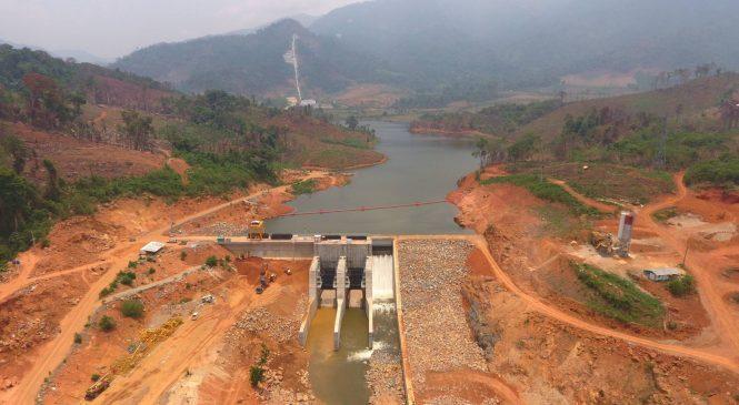 BGRIM  ขายไฟ โรงไฟฟ้าพลังน้ำ น้ำแจ สปป.ลาว