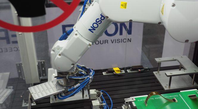 พบกับ EPSON N2 แขนกลพับได้ตัวแรกของโลก! ในงาน Manufacturing Expo 2019
