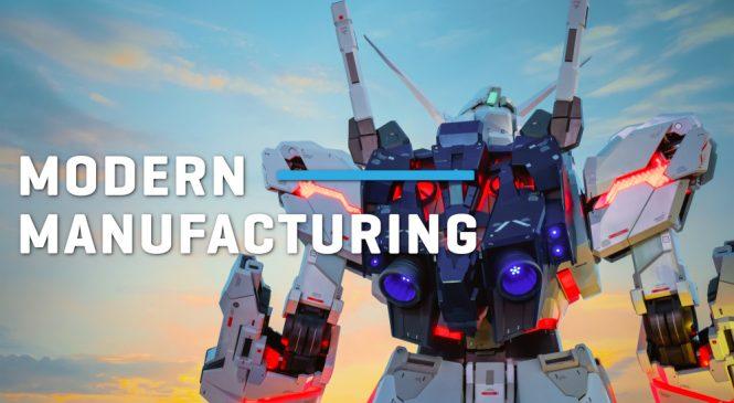 เติมเต็มความฝันกับขั้นตอนการผลิตสุดยอดหุ่นยนต์ Gundam!