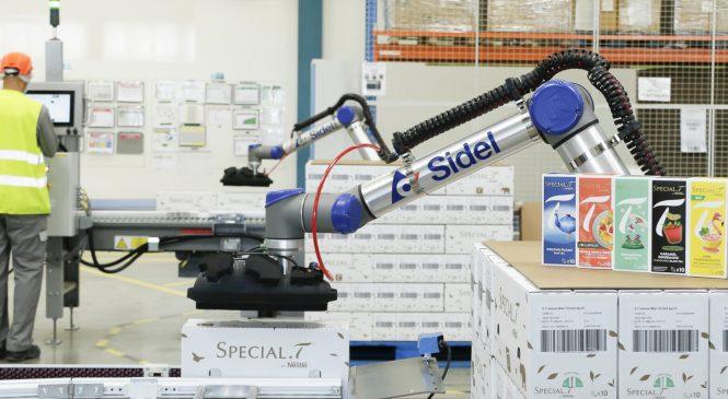 Cobot หัวใจสำคัญสำหรับการหยิบจับสินค้าพรีเมียมของ Nestlé