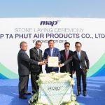 ปตท.-บีไอจี วางศิลาฤกษ์หน่วยแยกอากาศ LNG แห่งแรกของไทย