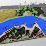 Mimaki จับมือ Minecraft ผลิตโมเดลแบบสำหรับผู้ชนะการประกวดออกแบบ Sustainable City