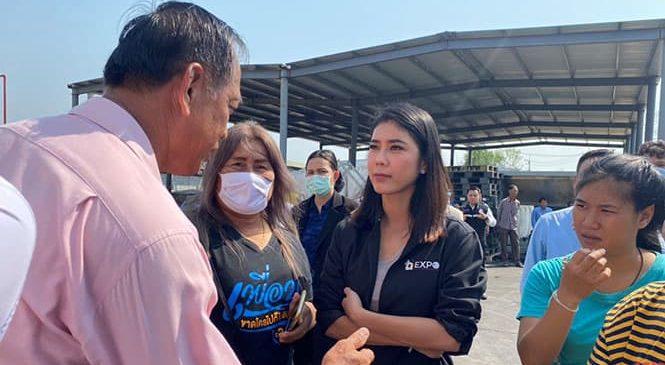 กระทรวงอุตสาหกรรม สั่งโรงงานปรับปรุง หลังชาวชลบุรี ร้องเรียน ปล่อยน้ำทิ้งกลิ่นเหม็น
