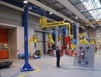 Dalmec Manipulators for Steel Panel