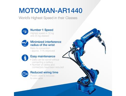 Industrial Robot : Arc Welding Application