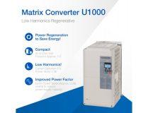 U1000 – Low Harmonics Regenerative Matrix Converter