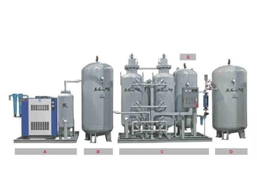 Structure of Nitrogen Gas Generator