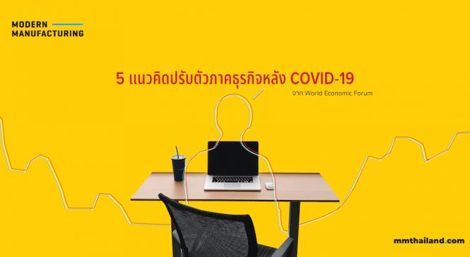 5 แนวคิดปรับตัวภาคธุรกิจหลัง COVID-19 จาก World Economic Forum