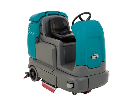 Compacted Ride-on scrubber