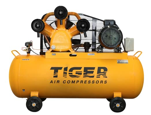BELT-DRIVE SINGLE STAGE AIR COMPRESSORS