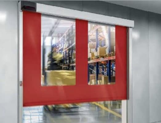 PVC HIGH SPEED AUTOMATIC DOORS