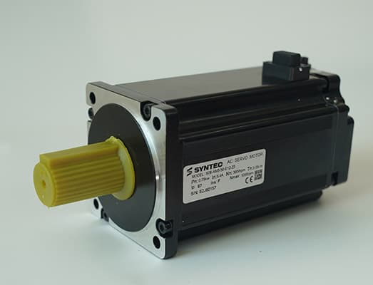 Servo motor with absolute encoder