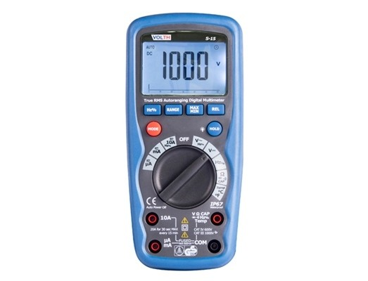 Professional True-RMS Digital Multimeter Full function for your work, with IP67 waterproof