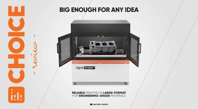 Review: BigRep Studio G2 เครื่องพิมพ์ 3 มิติขนาดใหญ่รับได้ทุกความต้องการ!