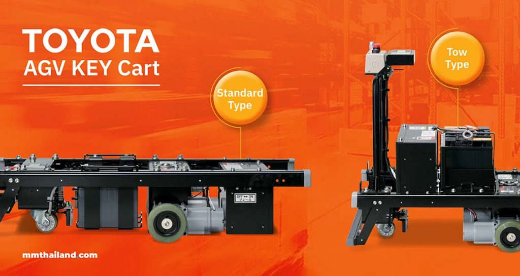 Types of TOYOTA AGV KEY Cart