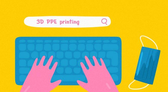 การพิมพ์ 3 มิติและ Social Media ช่วยรับมือกับการขาดแคลน PPE ท่ามกลาง COVID-19 ได้อย่างไร