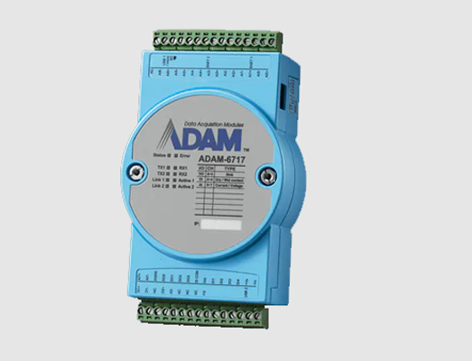 Compact Intelligent Gateway with I/O : ADAM-6700