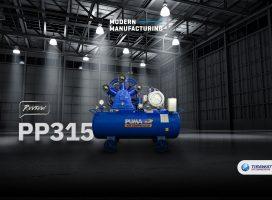 รีวิว   ปั๊มลมสายพานอุตสาหกรรม PP315 จาก PUMA