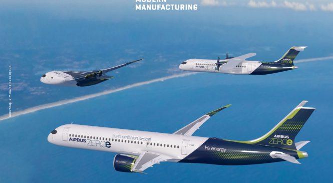Airbus เผยโฉมอากาศยานรุ่นใหม่ไร้การปลดปล่อยมลพิษ