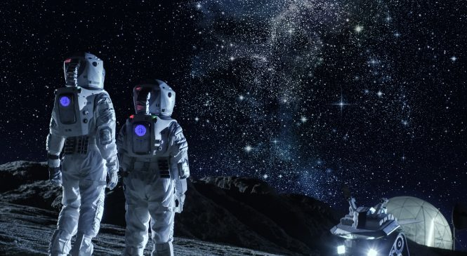 การพิมพ์ 3 มิติด้วยฝุ่นอาจเป็นคำตอบของ 'การตั้งรกรากบนดวงจันทร์'