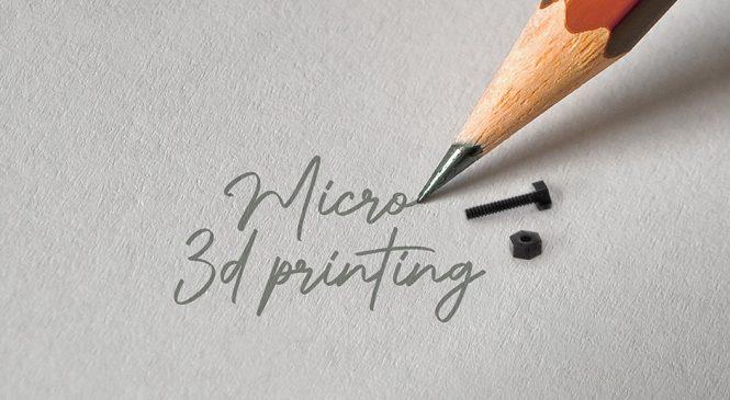 Boston Micro Fabrication กับเทคโนโลยีการพิมพ์ขนาดจิ๋ว