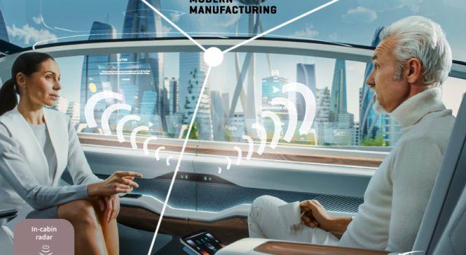 Infineon เปิดตัวเซนเซอร์เรดาห์ XENSIV 60 GHz และไมโครคอนโทรลเลอร์ AURIX ยกระดับความปลอดภัยห้องโดยสารยานยนต์