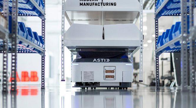 ABB เข้าซื้อ ASTI Mobile Robotics Group ขับเคลื่อนสู่อนาคตแห่งหุ่นยนต์เคลื่อนที่สำหรับระบบอัตโนมัติที่มีความยืดหยุ่นมากขึ้น