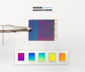 กระดาษอิเล็กทรอนิกส์รุ่นใหม่มีสีสันที่สดสวยยิ่งขึ้น