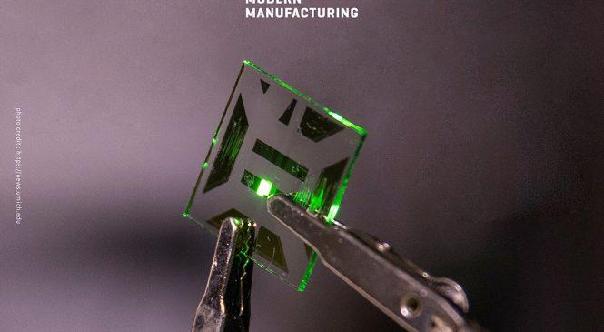 มันจ้าเสียเหลือเกิน! อิเล็กโทรด Nanotech OLED ให้แสงมากกว่าเดิม 20% และลดการใช้พลังงาน