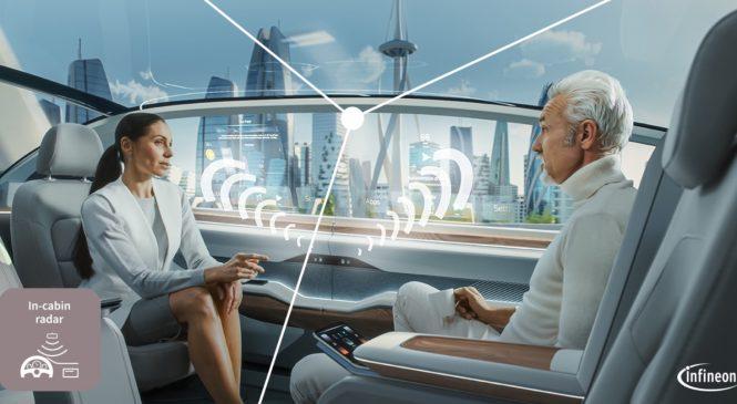 เซนเซอร์เรดาร์ XENSIV 60 GHz และไมโครคอนโทรลเลอร์ AURIX เพื่อความปลอดภัยของยานยนต์ไร้คนขับ