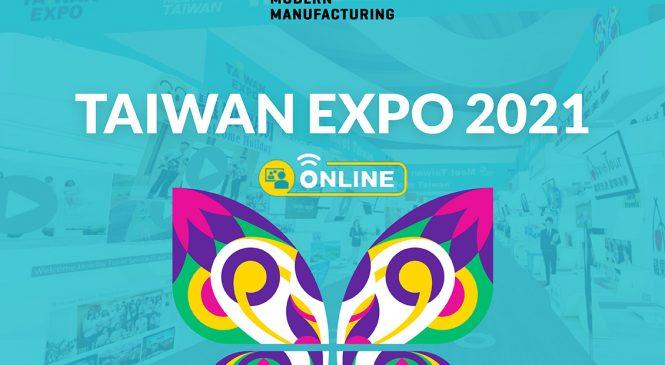 ไต้หวันทุ่มสุดตัวจัดงานแสดงสินค้า 3 มิติ กับงาน TAIWAN EXPO ONLINE 2564 จุใจกับนวัตกรรมและบริการครบวงจรจากไต้หวันแท้ ๆ