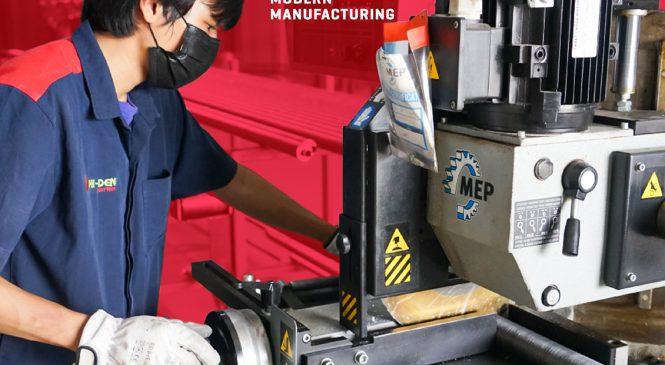 Hi-den เปิดไลน์การผลิตท่อติดครีบ (Finned tube) และเครื่องแลกเปลี่ยนความร้อน (Heat Exchanger)
