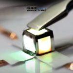 LED บางพิเศษแบบ Quantum Dot สามารถพับเปลี่ยนรูปร่างได้อย่างอิสระเหมือนกระดาษ